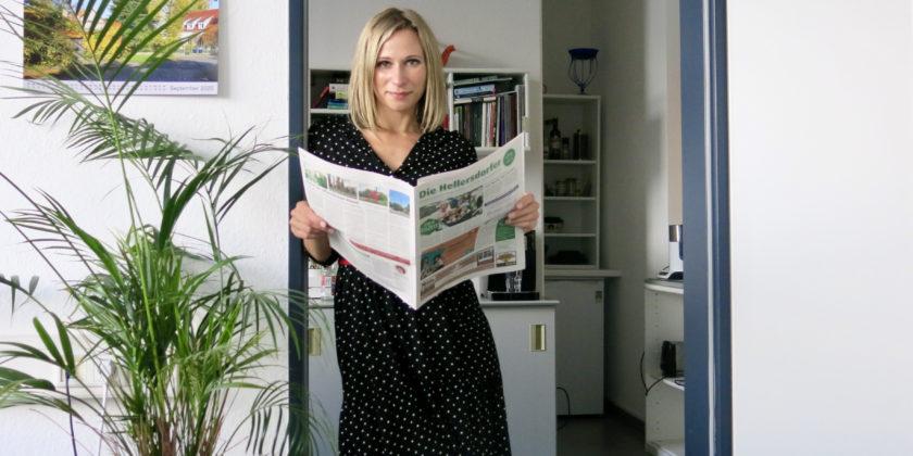 """Journalistin bei der Lokalzeitung """"Die Hellersdorfer"""""""